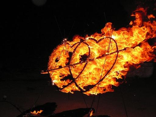 燃燒中的雙心